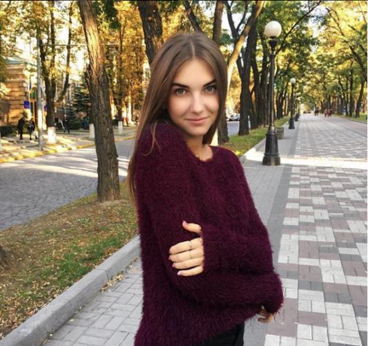 Ukrainian girl from Kharkiv